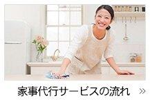 家事代行サービスの流れ